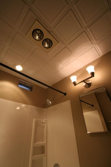 bathroom heat lamps halogen lighting